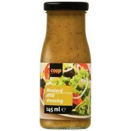 Coop mosterd dille dressing 145ml (145ml)
