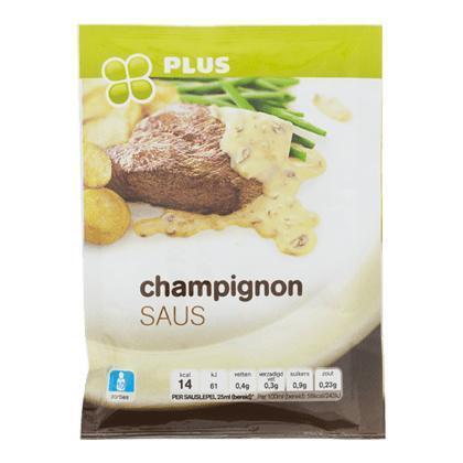 Champignon Saus (zak, 40g)