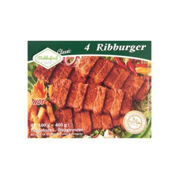 Mekkafood Ribburger 4 x 100g (4 × 100g)