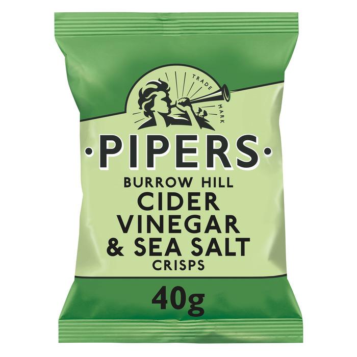Pipers Vinegar & sea salt 40 g (40g)