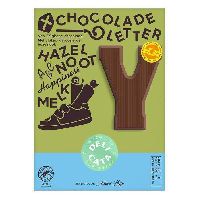 Delicata chocoladeletter melk hazelnoot (90g)