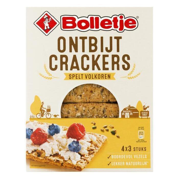 Ontbijtcrackers Spelt Volkoren (Stuk, 240g)
