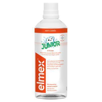 Elmex Junior tandspoeling 6-12 Jr (40cl)