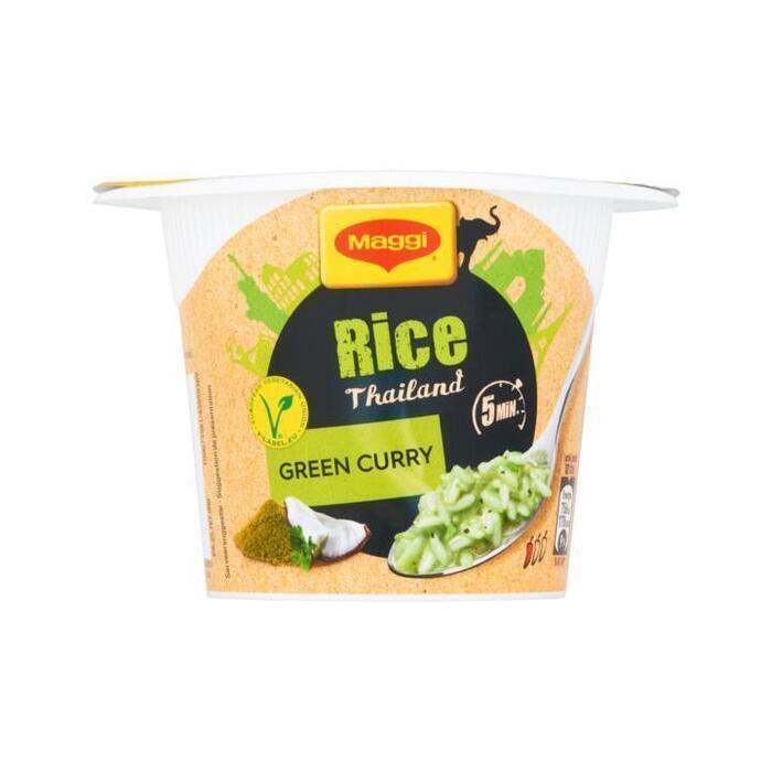 Maggi Cups Rice Thailand Green Curry 49 g (49g)