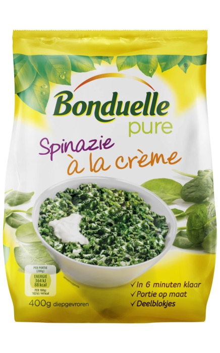 Spinazie à la crème (zak 400g) (400g)
