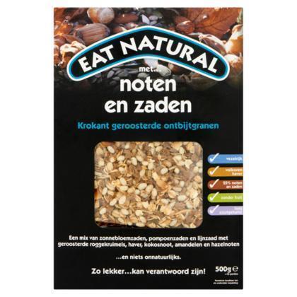 Krokant geroosterde ontbijtgranen met noten en zaden (Stuk, 500g)