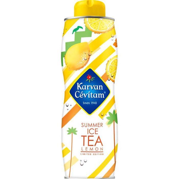 Karvan Cévitam, Ice Tea Citroen (0.75L)
