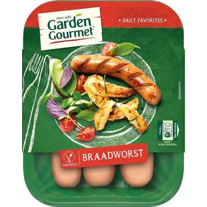 Garden Gourmet Vegetarische braadworst (210g)