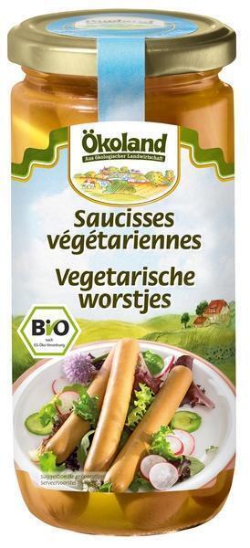 Vegetarische worstjes (380g)
