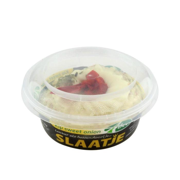 Abee Kipslaatje sweet onion cupje 140 gram (140g)
