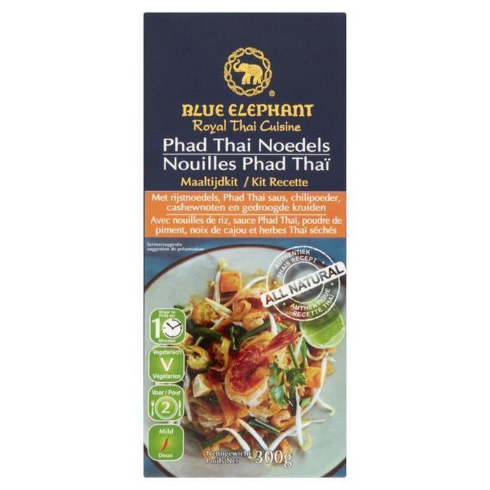 Blue Elephant Phad Thai noedels maaltijd kit (300g)