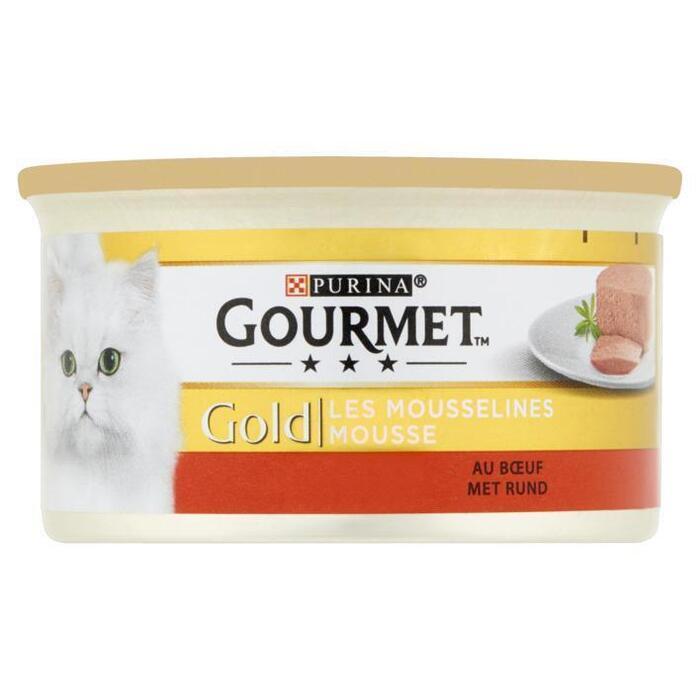 Gourmet Gold mousse met  rund (85g)
