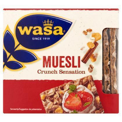 Crunch sensation muesli (17 × 220g)