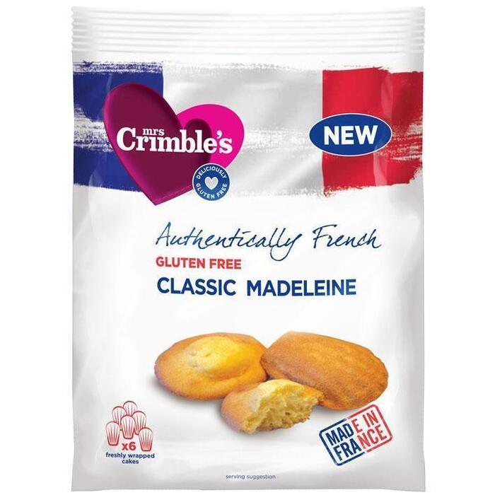 Mrs Crimble's French classic madeleines gluten free (6 × 180g)