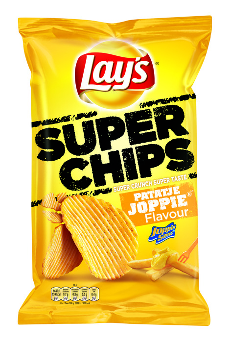 Lay's Superchips patatje Joppie (215g)