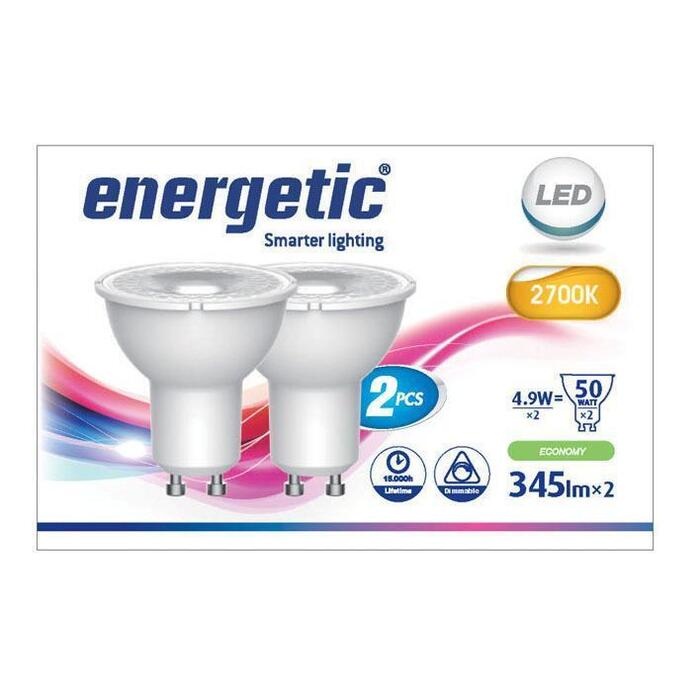 Energetic Led reflecterend g10 50wd (2 st.)