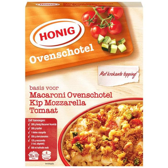 Macaroni ovenschotel kip, mozzarella, tomaat (Doos) (95g)