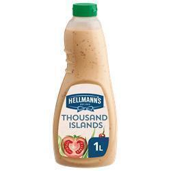 Hellmann's Thousand Islands Dressing (fles, 6 × 1L)