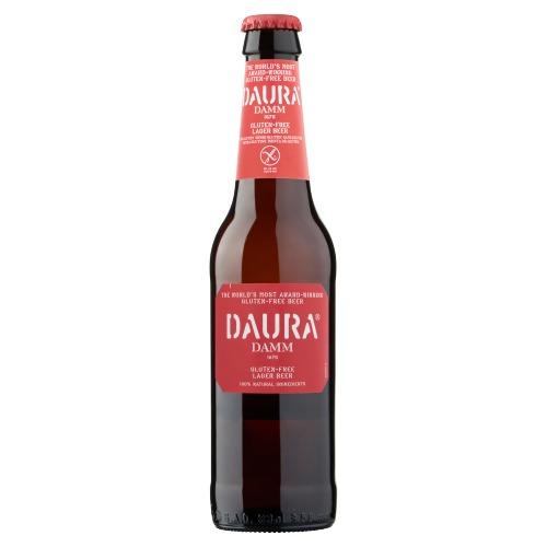 Daura Damm Gluten-Free Lager Beer Flessen 4 x 33cl (4 × 33cl)