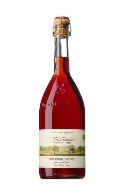 Rode wijn alcoholvrij (0.75L)