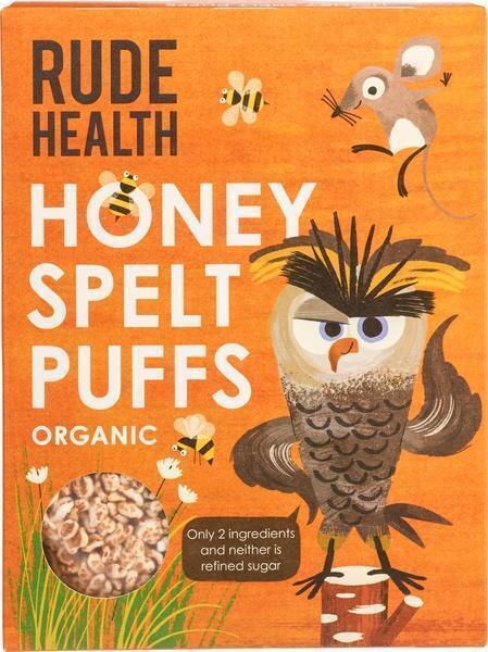 Honey spelt puffs (175g)