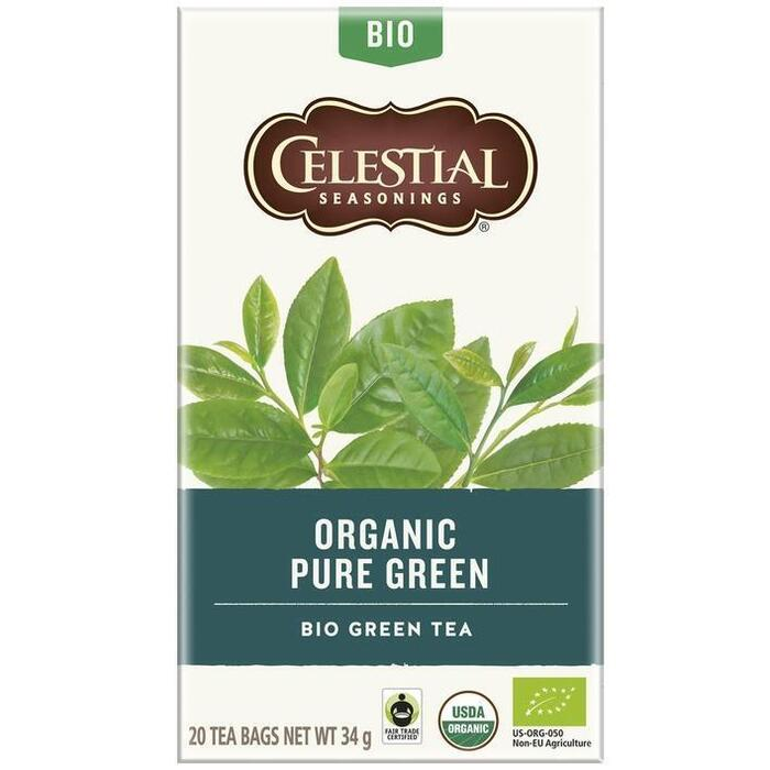 Celestial Seasonings Organic Pure Green (20 × 34g)