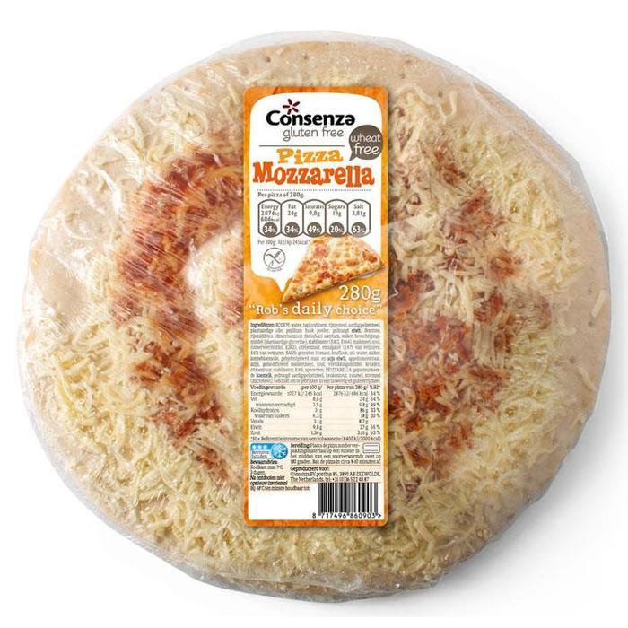 Pizza mozzarella (260g)