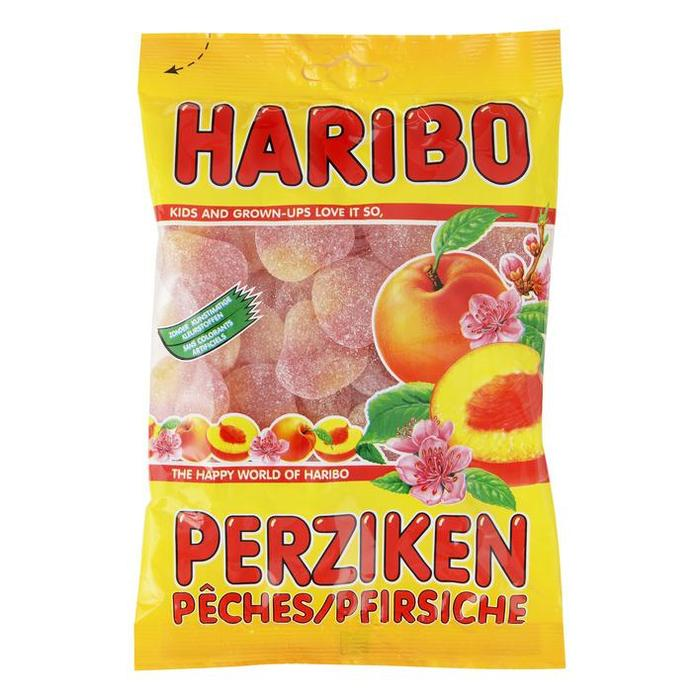 Haribo Perziken (plastic zak, 250g)