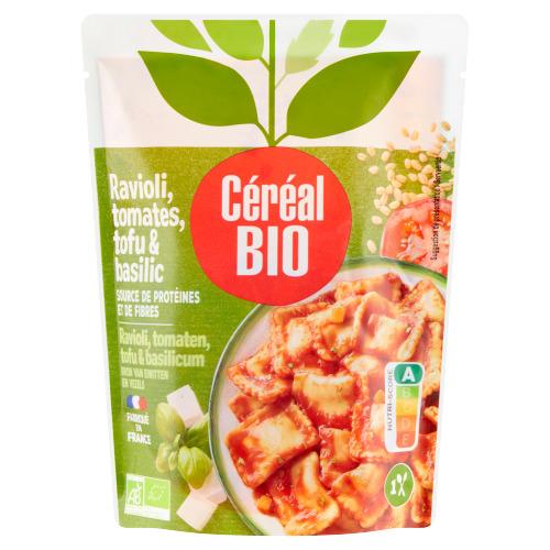 Céréal Bio Raviolis Tofu met Tomaten & Basilicum 267 g (267g)