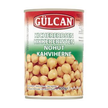Gulcan Kikkererwten 400 grm (400g)