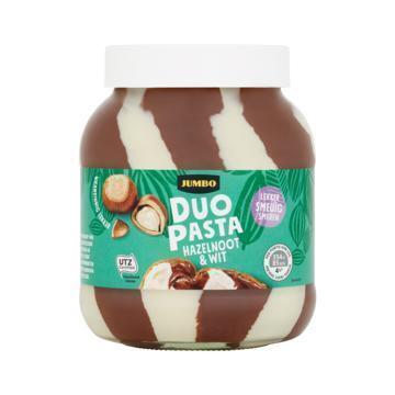 Jumbo Duo Pasta Hazelnoot Wit Voordeel 750g (750g)