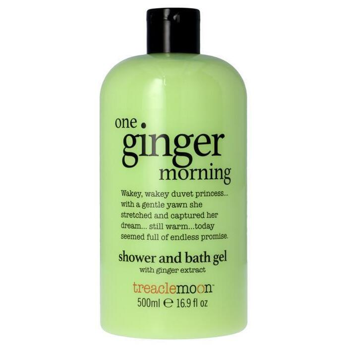 Treaclemoon One ginger morning bath and shower gel (0.5L)