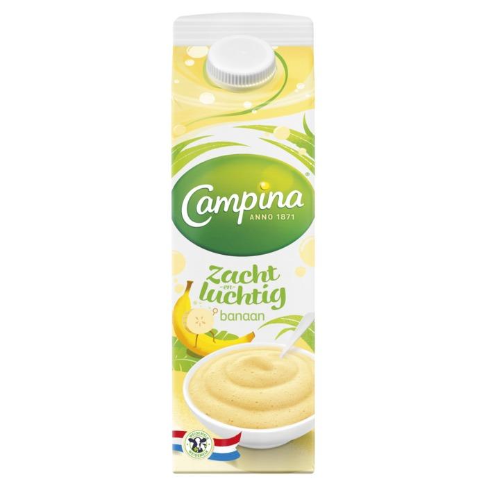 Zacht & luchtig banaan (1L)