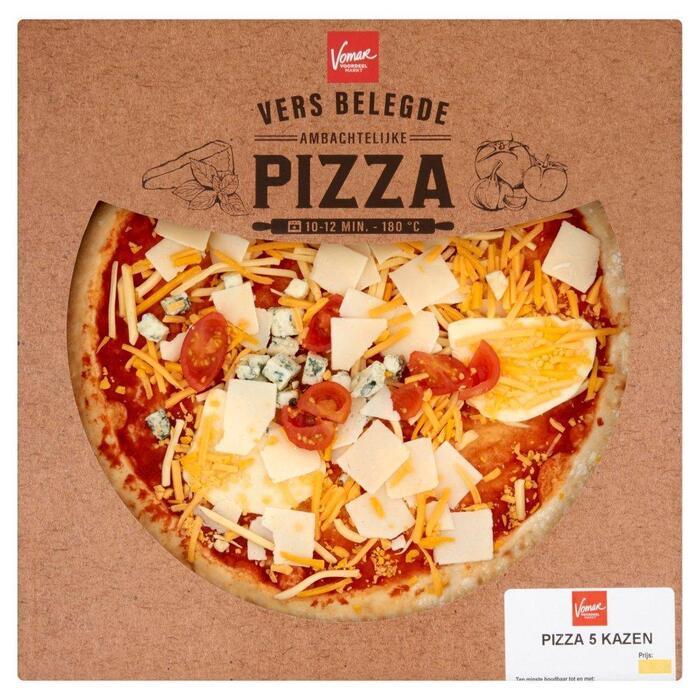 Vomar Verse Pizza 5 Kazen (440g)
