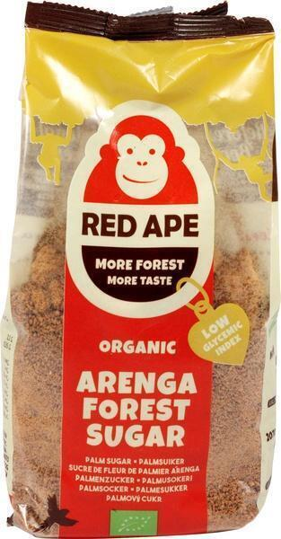 Red Ape Organic Arenga Forest Sugar 250g (250g)