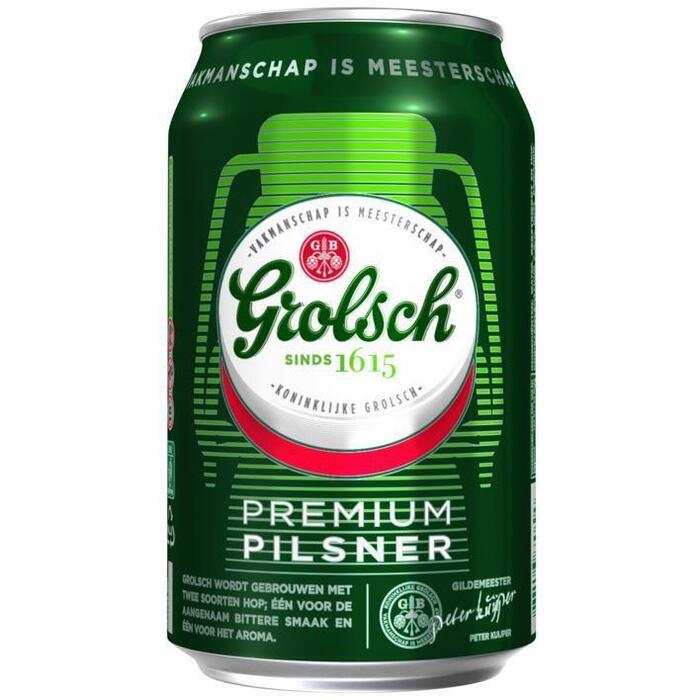 Grolsch Premium Pilsener (rol, 33 × 33cl)