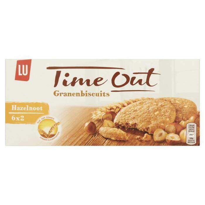 LU Time Out granenbiscuits hazelnoot (171g)