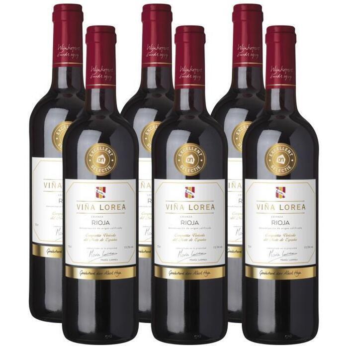 AH Excellent Sel Vina Lorea Rioja crianza (6 × 0.75L)