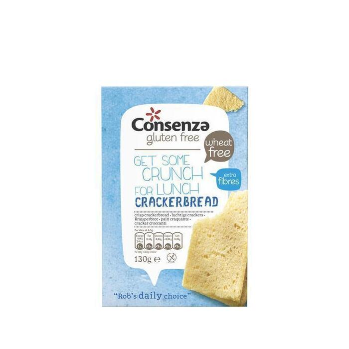 Consenza Luchtige crackers (2 × 130g)