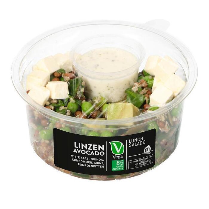 Groente& linzen-avocado (200g)