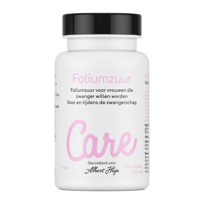 Care Foliumzuur tabletten