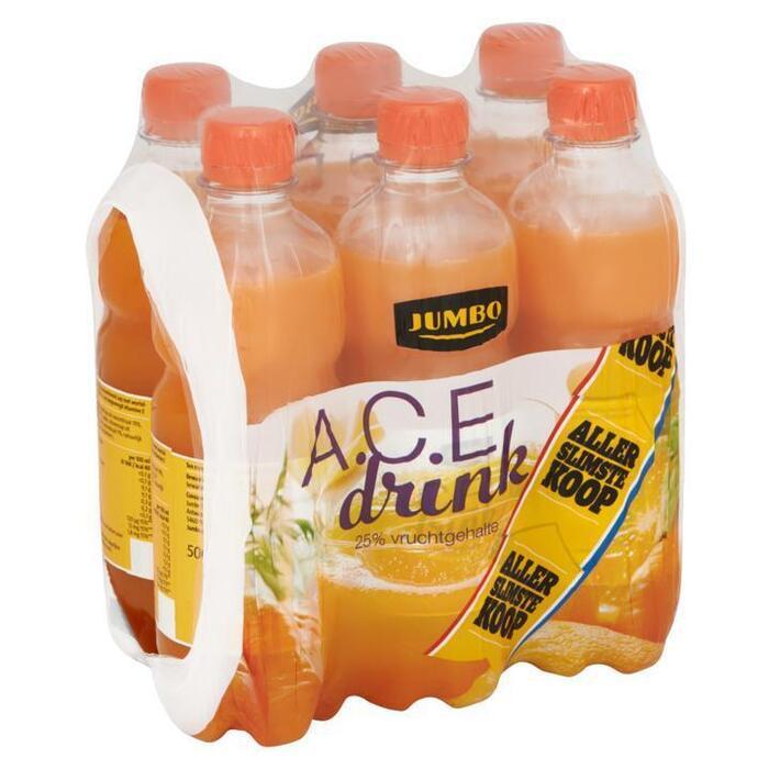 Jumbo A.C.E Drink Allerslimste Koop 6 x 500ml (6 × 0.5L)