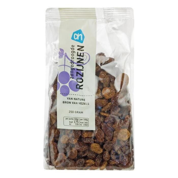 Rozijnen (zak, 250g)