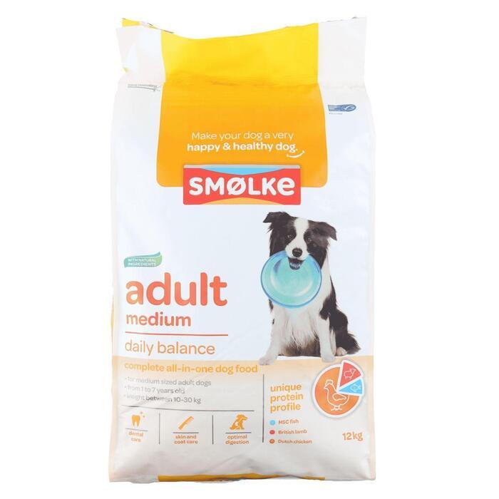Smolke hond adult  med. (12.2kg)