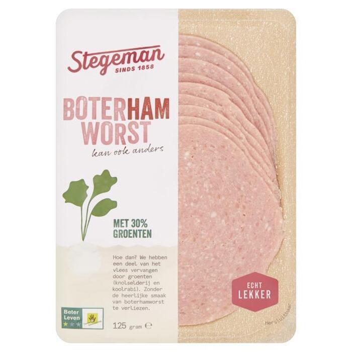 Stegeman Better meat boterhamworst (125g)