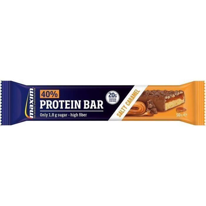 Maxim Salty caramel 40% protein bar (50g)