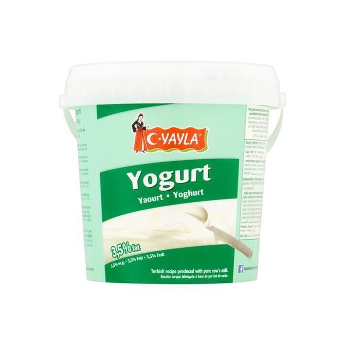 Yayla Yoghurt 3,5% Vet 1000g (1kg)