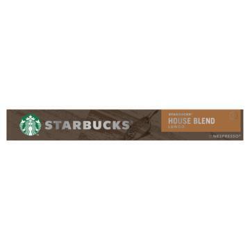 Starbucks® House Blend by Nespresso® Medium Roast 10 Capsules (57g)