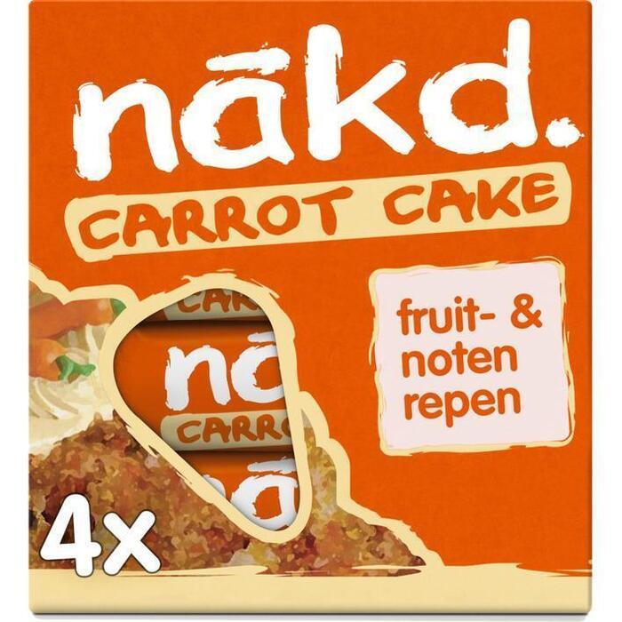 Nakd Carrot cake (4 × 35g)