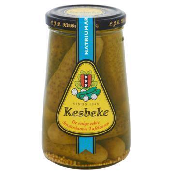 Kesbeke Augurken (pot, 340g)